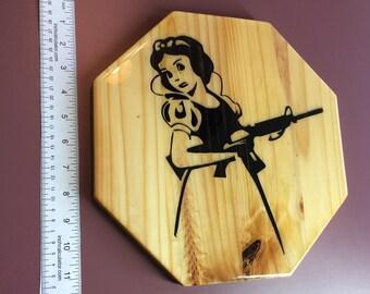 "Alternate Dark Snow White Cutting/Display Board 11"""