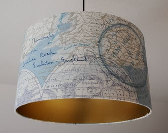 "Ceiling lamp ""globe-gold"""