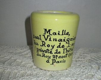 Maille French Mustard Pot (1960s)