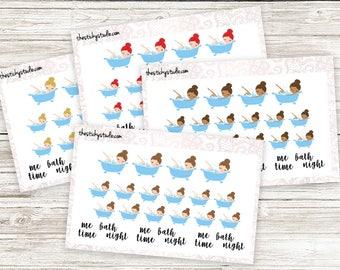 BATH Girls | Planner Stickers | TheStickyStudio