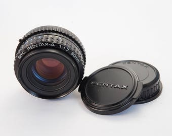 Pentax-A 50mm f/1.7 Manual Focus Lens