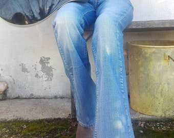 Vintage Flared Jeans - One size only: S