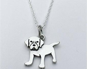 Labrador Charm Necklace