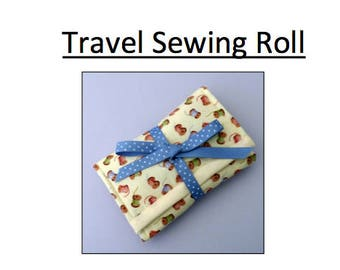 Travel sewing Kit Pattern PDF