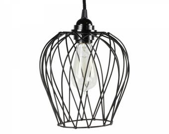 Hanging lamp wire frame black-Limited edition
