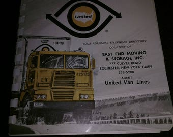 1968 69 united van lines east end moving and storage advertising calendar