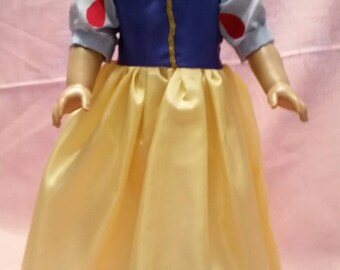 """Snow White 18"""" Doll Outfit"""