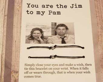 Funny office card, the office, Jim and Pam , his and hers , the office tv show, boyfriend girlfriend , funny husband card, anniversary card