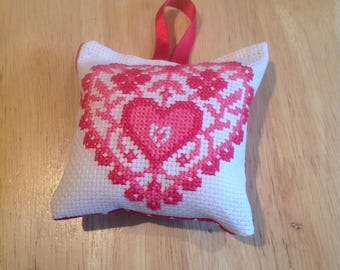 Cross stitch Christmas decoration