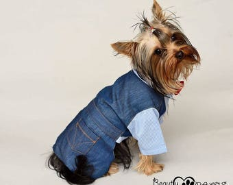 Dog Dress, Dog Clothing, Dog Wedding Dress, Pet Clothing, Pet Clothing,  custom dog