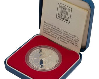 1977 Silver Proof Crown