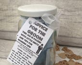 Advice for the Groom  Jam Packed Jars  Wedding Games  Best Man  Grooms Gift  Stag Do Games