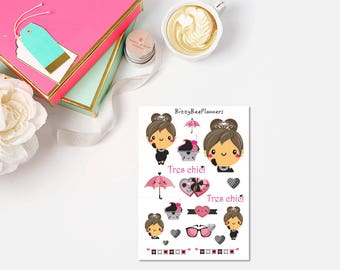 Tres Chic Planner Stickers