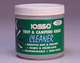 Bell tent Cleaner- Iosso Tent and Camping Gear cleaner