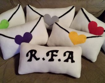 Mystic Messenger RFA Letter Pillow