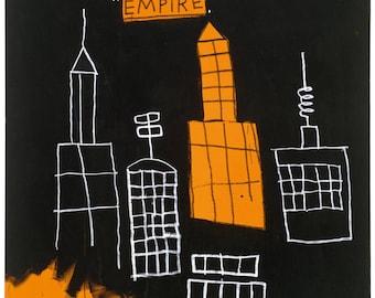 Jean-Michel Basquiat Mecca, 1982