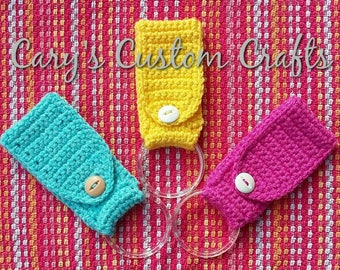 Set of Two* Kitchen towel holder - crochet towel holder - crochet kitchen towel hanger