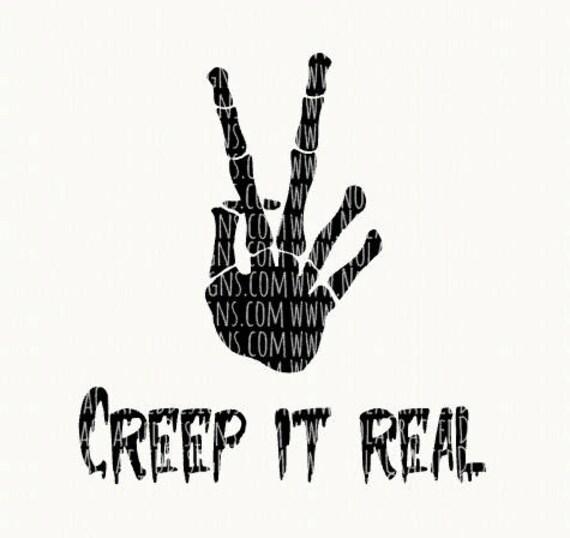 Trendy Boy Halloween Svg Cut File Creep It Real Svg