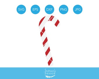 Candy Cane SVG, Candycane SVG, Peppermint SVG, Christmas Svg Files, Christmas Cricut Designs, Svg Designs, Svg Files for Cricut, Xmas Svg