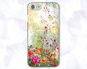 Flowers iPhone 7 Case iPhone 6S Plus Case Floral iPhone 6 Case iPhone 5S Case iPhone 5C Case For Samsung S7 Case For Samsung S8 Case 433