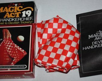 Magic Act 19 Devil's Handkerchief Reiss Games 1975 Vintage RARE