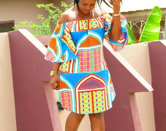 African wear/ African print dress/ African clothing /
