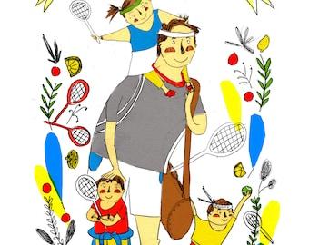 Mum/Dad Portrait Commission