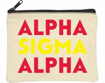ALPHA SIGMA ALPHA Bittie Bag