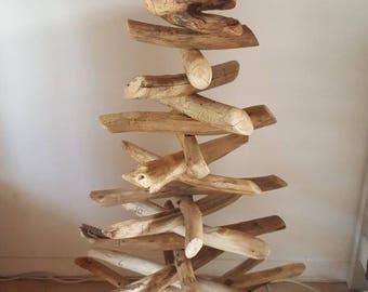 Sapin bois flotte etsy for Vente sapin en bois flotte