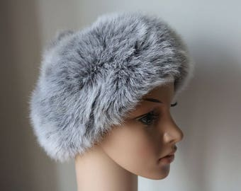 Women's Marks and Spencer, St Michael, faux fur winter hat  In very good condition