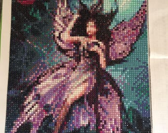 Table Creation fairy embroidery DiamantPainting 5 d shiny rhinestones