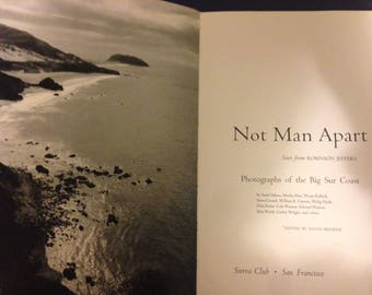 BIG SUR COAST photography Ansel Adams, Edward Weston, Wynn Bullock, Cole Weston ... Robinson Jeffers poetry 1st 1965 Sierra Club hardcover
