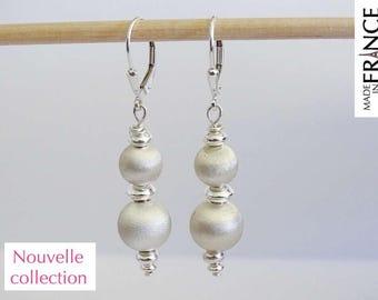 ATOMS taffeta Silver earrings