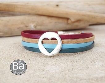 Paris Montparnasse leather bracelet