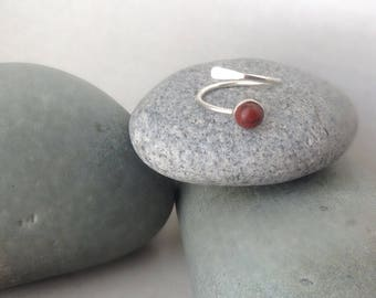 Sterling Silver Stone Ring