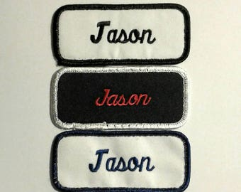 Vintage Jason Name Patches