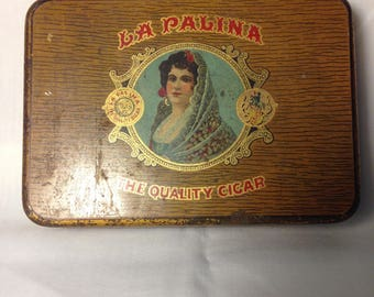 La Palina Cigar Tin
