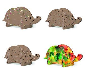 Cardboard turtle - Design Gift Decoration baby children room