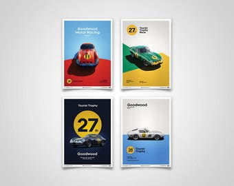 Ferrari 250 GTO Posters - Goodwood collection