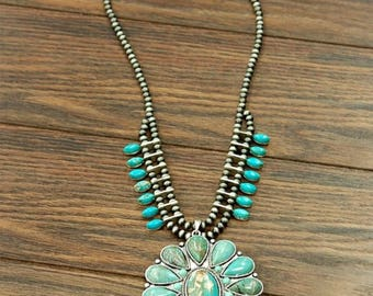 Authentic Squash Blossom necklace