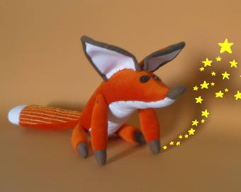 Fox Toy, Plush Toy Fox