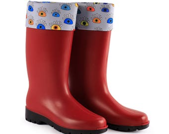 BiggDesignMy Eyes are on You Rain Boots