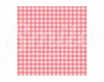 PINK SHEPHERD'S CHECK Digital Paper for Commercial Use | 0052