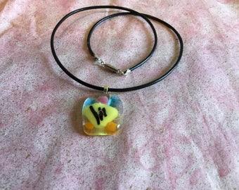 Multi colored pendant