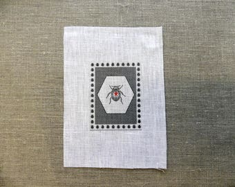 fabric sewing beetle