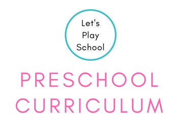 Let's Play School Preschool Curriculum -