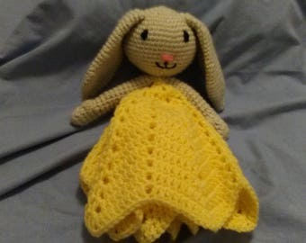 Crocheted Bunny Lovey