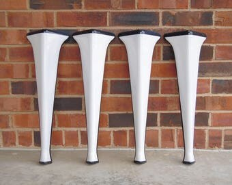 porcelain cast iron appliance legs 1920s vintage set of four white porcelain covered
