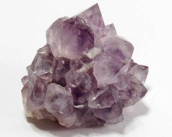 Purple Amethyst Spirit Quartz crystal cluster