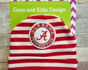 University of Alabama hat-baby bama hat-alabama baby hat-alabama infant hat-alambama hat for toddler-Alabama baby shower gift